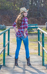 Jaclyn's Photoshoot (jlucierphoto) Tags: blue hot sexy girl beautiful boots outdoor country butt jeans lovelyflickr
