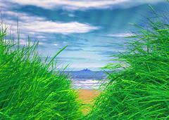 deco beach (Hal Halli) Tags: uk beach scotland beautifulphoto artdigital fantasticnature magicunicornverybest