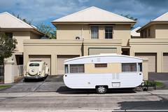 Newport (Westographer) Tags: suburbia australia melbourne newport parked caravan streetscape westernsuburbs tqwnhouses