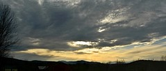 2016_0425Sunset-Pano0002 (maineman152 (Lou)) Tags: sunset sky panorama cloud sun nature clouds skyscape landscape cloudy maine april sundog cloudysky skyview naturephotography skyscene landscapephotography naturephoto skycolor skycolors springsky skydrama landscapephoto