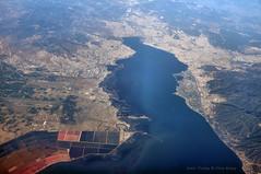 Izmir (Chris Brady 737) Tags: turkey mediterranean delta izmir seasalt saltpan gediz halobacterium