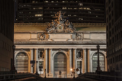 (ReadyAimClick) Tags: city nyc newyorkcity longexposure ny classic statue architecture canon cityscape nightshot arches landmark icon citystreets grandcentral midtownmanhattan nycstreetphotography streetsofnyc nyc2016