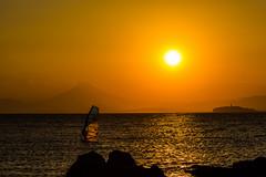 (Moru.) Tags: sunset sea sky orange mountfuji fujisan  mtfuji  fujiyama