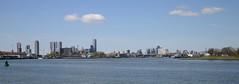 Skyline Rotterdam (YDekkers) Tags: city panorama skyline architecture rotterdam bluesky