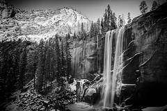 Winter falls (bgauger14) Tags: winter snow mountains waterfall nationalpark falls yosemite