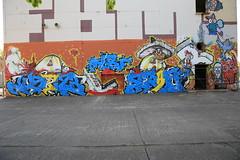 Graffiti im Landschaftspark (Pascal Volk) Tags: streetart berlin graffiti wideangle wa ww 16mm superwideangle sww uwa weitwinkel swa berlinlichtenberg ultrawideangle uww ultraweitwinkel superweitwinkel canonef1635mmf4lisusm canoneos6d parkinberlin landschaftsparkherzberge