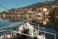 Dampfschiff DS Blüemlisalp ( Schaufelraddampfer - Salondampfer - Raddampfer - Kursschiff - Baujahr 1906 - Länge 63.45m - Passagiere 750 ) auf dem Thunersee im Berner Oberland im Kanton Bern der Schweiz (chrchr_75) Tags: christoph hurni chriguhurnibluemailch chrchr chrchr75 chrigu chriguhurni dezember 2015 albumzzz201512dezember thunersee kantonbern see lac lake lago berner oberland schweiz susise switzerland svizzera suissa swiss kanton bern berneroberland alpensee sø järvi 湖 albumthunersee schiff kursschiff schiffahrt kursschiffahrt passagierschiffahrt passagierschiff skib ship alus bateau πλοίο 船 корабль schip fartyg barco albumschweizerkursschiffe albumkursschiffethunersee fahrgastschiff öffentlicher verkehr öv suisse switerland
