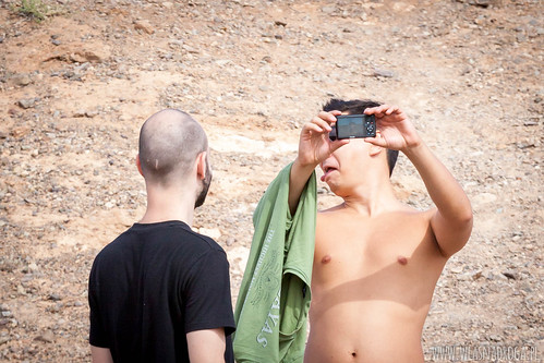 Selfie z kanionu