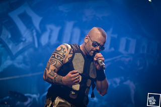 February 13, 2015 // Sabaton at Lotto Arena // Shot by Daria Colaes