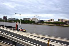 DSC_0127 Brisbane Christmas 2015 (aciamax) Tags: 1969 buses buildings bridges brisbane southbank gondola sculptures myer 1865 2015 panoramicviews christmaswindowdisplays thewheelofbrisbane