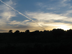 Morgendmmerung auf dem Weg aus Aldea del Cano heraus (pilgerbilder) Tags: pilgern pilgerfahrt pilgertagebuch vadellaplata aldeadelcanocceres