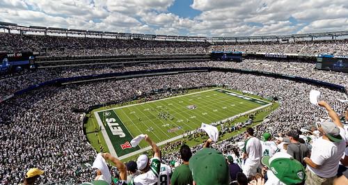 New York Jets at the Metlife Stadium