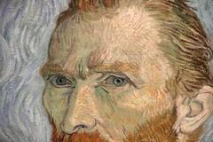 Van Gogh, self portrait (forest-raven) Tags: detail art painting impressionism vangogh impressionist musedorsay orsaymuseum