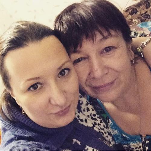 Долгожданная встреча племянницы с любимой тётушкой
