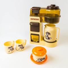 Spielzeug kaffeemaschine