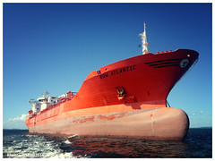 Bow Atlantic (Rhannel Alaba) Tags: brazil atlantic anchorage bow salvador pido alaba odfjell rhannel iphone4s