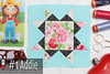 gnomeangel-farmers-wife-1930-block-1-addie-fqs (gnomeangel) Tags: modern quilt quilting patchwork tutorial farmerswife fussycutting gnomeangel fussycuttersclub farmerswife1930