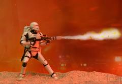 Flametrooper (Raichu 08) Tags: star starwars order first lucasfilm disney stormtrooper wars sith lucasarts flametrooper theforceawakens