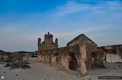 Backview - Old Church (jeevanan) Tags: ocean road old city blue sunset sea india church way lost nikon indian solo 1855mm 70300mm tamron tamil rameswaram nadu 70300 dhanushkodi d7000