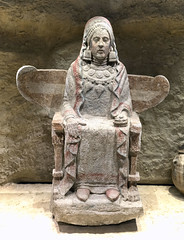 Dama de Baza (HR) (. M. Felicsimo) Tags: man ibero museoarqueolgiconacional