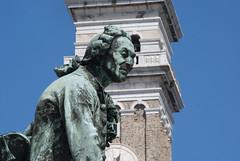 Tartini - Pirano, Istria (Leonardo Santetti) Tags: venice sea italy white history leonardo piran istria pirano santetti leonardosantetti
