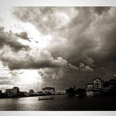 Ras Elbar |   (Yasser Metwally) Tags: clouds nile damietta   raselbar    yassermetwallycom egmyassermetwallycom