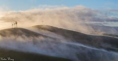 Brushy Peak Regional Preserve 2016 (katiewong511) Tags: park winter fog sunrise outdoor hiking windmills trail livermore vasco regionalpark