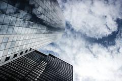 Reflecting the sky (daniele.esposito.world) Tags: sky ny building glass architecture facade skyscraper reflections mirror