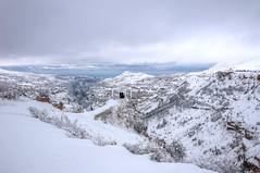 Winter Dream. (jrseikaly) Tags: winter lebanon cliff snow jack high dynamic valley range hdr cedars qadisha seikaly jrseikaly