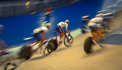 Manchester Velodrome - Jan '16 (Rob Clowes) Tags: motion blur bike race speed canon manchester cycling cyclists movement track wheels bikes racing cycle revolution rotation fixie velodrome uci lightroom manchestervelodrome britishcycling canon7d revolutionseries