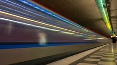 Geschwindigkeit / speed (ludwigrudolf232) Tags: ubahn ggescheindigkeit