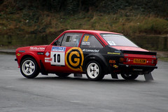 legend fire rally 2016 | Escort MK2 | YLG 820W (Jgalea14) Tags: white black ford window glass wheel canon fire mirror cole 10 rally reis revolution round physics mk2 morris legend blackpool escort rotary fuchs fleetwood damian pual sunoco millington 2016 100d etconnected