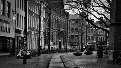 The Hague, City Center (Jan Bierens) Tags: urban blackandwhite bw black streetphotography streetlife denhaag duotone thehague straat straatfotografie streetphotographyblackandwhite d5100 janbierens janbierensphotography