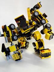 Devastator G2 (So Fung) Tags: lego transformers g2 mech moc devastator