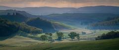 . (_Alexei) Tags: morning italy mist fog dawn haze tuscany crete toscana senesi