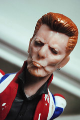 - Little Wonder - (PinstripedPenguin) Tags: sculpture traditional polymerclay bust davidbowie blackstar polymer ziggystardust spaceoddity supersculpey littlewonder