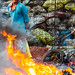 Scavenger & Trash Fire, Smokey Mountain Philippines