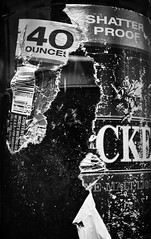 Destruction (Torri.Gallegos) Tags: blackandwhite maltliquor 40oz mickeys