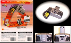 Kodak Advantix 3800ix  and Promotion leaflet 1999 (camera.etcetera) Tags: camera promotion kodak ad advertisement advantix
