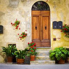 Italy 2012-6669 (dshresthaross) Tags: door italy tuscany pienza 2012 hilltown
