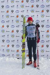 Анатолий Кораблев после Лыжни России