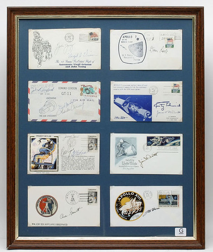 Moon First Day Covers, Signed ($1,045.00)
