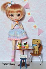 Vainilla - Pullip Custom (Yuffie Kisaragi) Tags: girl doll pullip poison custom blanche vainilla obitsu rewigged rechipped
