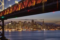 San Francisco by night (swissukue) Tags: sanfrancisco flickr nightshot sony nightlight baybridge estrellas a7 flickrestrellas ilce7