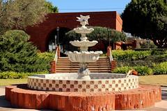 Historic Old Town San Juan Capistrano, California (Prayitno / Thank you for (11 millions +) views) Tags: california ca blue sky water fountain site san day juan outdoor sunny historic sjc capistrano konomark