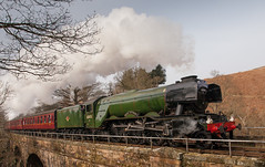 A3 60103 Flying Scotsman on the NYMR at Thomason Foss (DaveRob67) Tags: a3 steamengine goathland steamtrains flyingscotsman steamlocomotive nymr northyorkshiremoorsrailway 60103