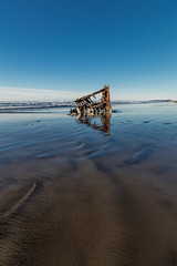 2016-01-10 - Peter Iredale Shipwreck-50 (www.bazpics.com) Tags: ocean sea usa beach water oregon america skeleton sand ship pacific or wave peter shipwreck frame hull wreck iredale