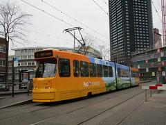 HTM tram 3143 DenHaag HS (Arthur-A) Tags: netherlands nederland tram denhaag bn po streetcar tramway ferries thehague strassenbahn electrico tranvia htm tramvia lahaye