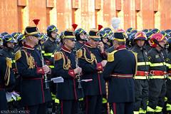 The Band of the Fire Brigade / Capannelle Roma / Lazio. (rossolavico) Tags: italien italy rome roma europa europe italia sca lazio vvf capannelle fileraw rossolavico squatritomassimilianosalvatore filerawnef viewnx2users scuolecentraliantincendi