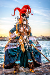 Danielle at Sunset 2 (Kayla Stevenson) Tags: venice costume model piazza sangiorgiomaggiore danielaschmid